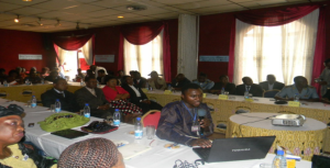 LAUNCHING THE WOMEN'S LEADERSHIP SCHOOLS IN CAMEROON: JANUARY 2012 AT AYABA HOTEL, BAMENDA