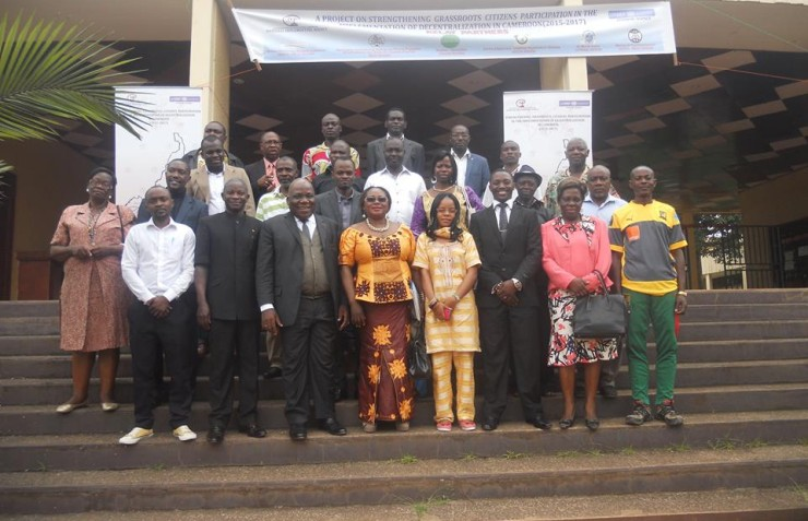 IVFCam STRENGTHENS THE CAPACITIES OF COUNCILORS, JOURNALISTS AND CIVIL SOCIETY ORGANIZATION (CSOs) LEADERS OF SOUTH & CENTER AND LITTORAL & WEST REGIONS RESPECTIVELY.