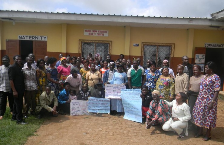 50 Community Health Workers and 18 Chiefs of Centers of Donga- Mantung Division, trained as Service Providers.