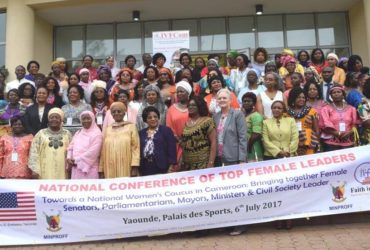 IVFCam organizes and hold the first ever National Conference of Top Female leaders (Female Ministers, Senators, MPs, Mayors and CSOs Leaders) in Cameroon.